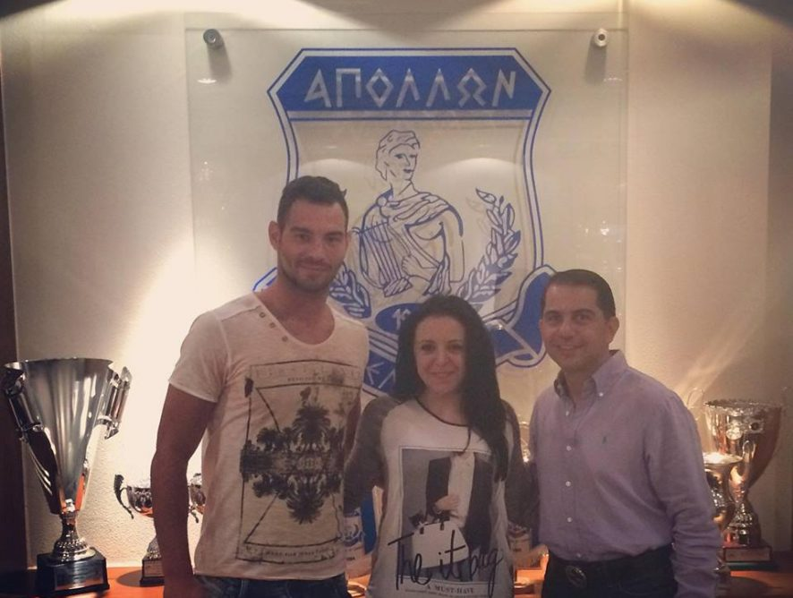 Simeon Slavchev signed one year contract with FC Apollon Limassol (Cyprus)