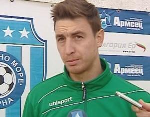 Plamen Nikolov signed with Cherno more