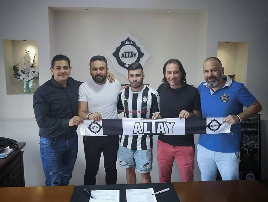 Pedro Eugenio concluded a contract with Altay Spor Kulübü (Turkey)