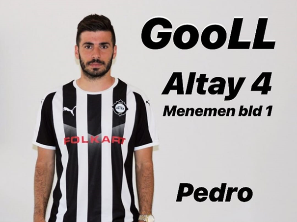 First goal for Pedro Eugenio in Turkey