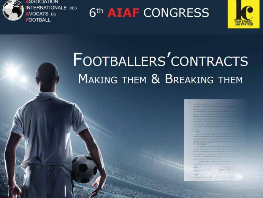 6th AIAF Congress - Lausanne 2018